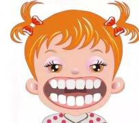 兒童牙頜齲形是如何形成的?